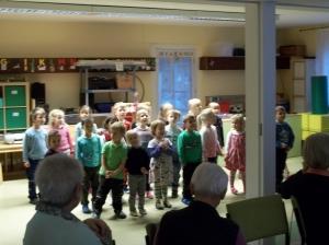 Auftritt der Kindergartenkinder